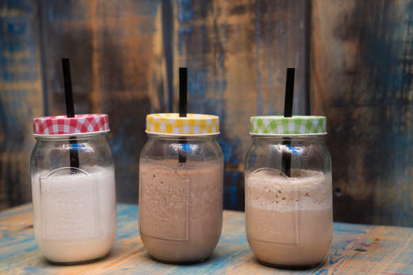 Smoothies, Frappés y Milk Shakes